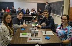 Minford wins Academic Competition