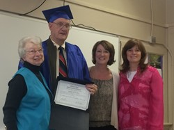 79-year-old pastor earns GED
