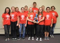 Minford wins Junior High Quiz Bowl