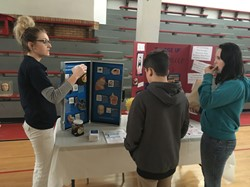 Student health fair hosted at ESC