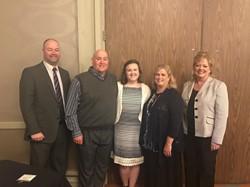 Shephard receives Franklin B. Walter Award