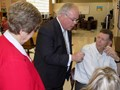 Uecker tours Southern Ohio Academy image