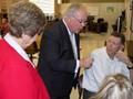 Uecker tours Southern Ohio Academy image