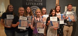 Student artists recognized at Visually Literate Awards