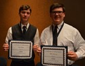 Two awarded music scholarships at festival