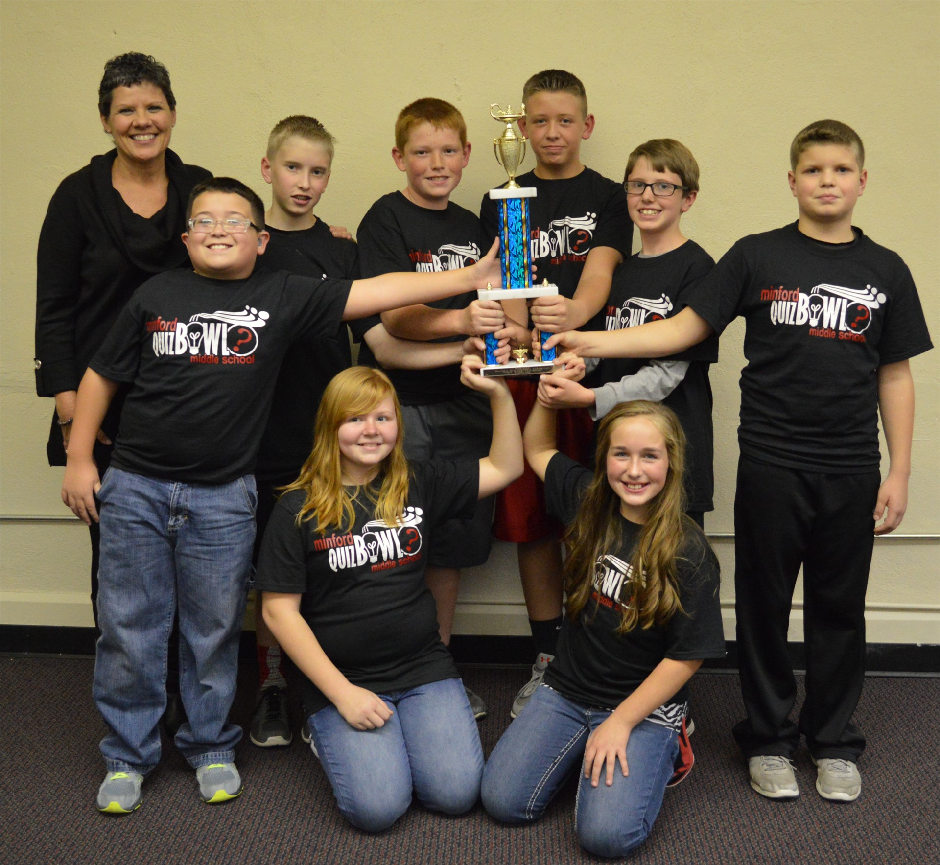 Minford Middle School, 2015 Quiz Bowl Champions