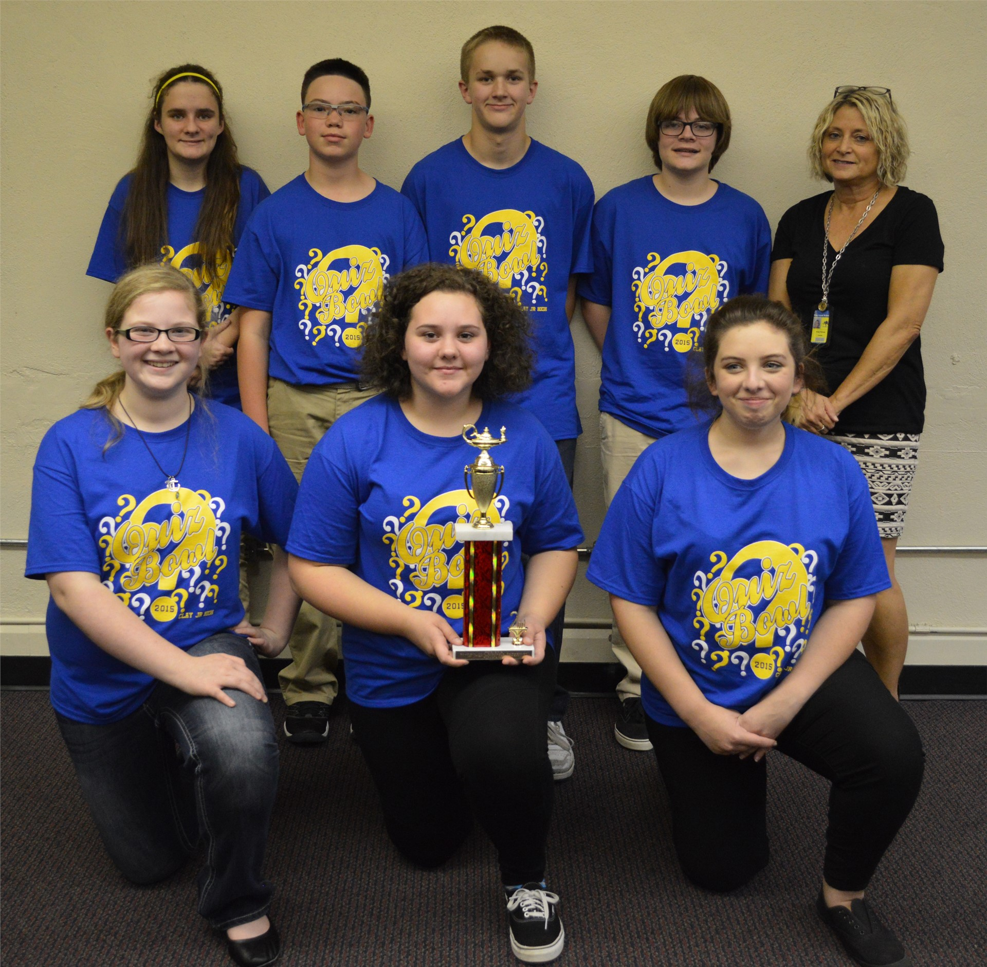 2015 Junior High Quiz Bowl