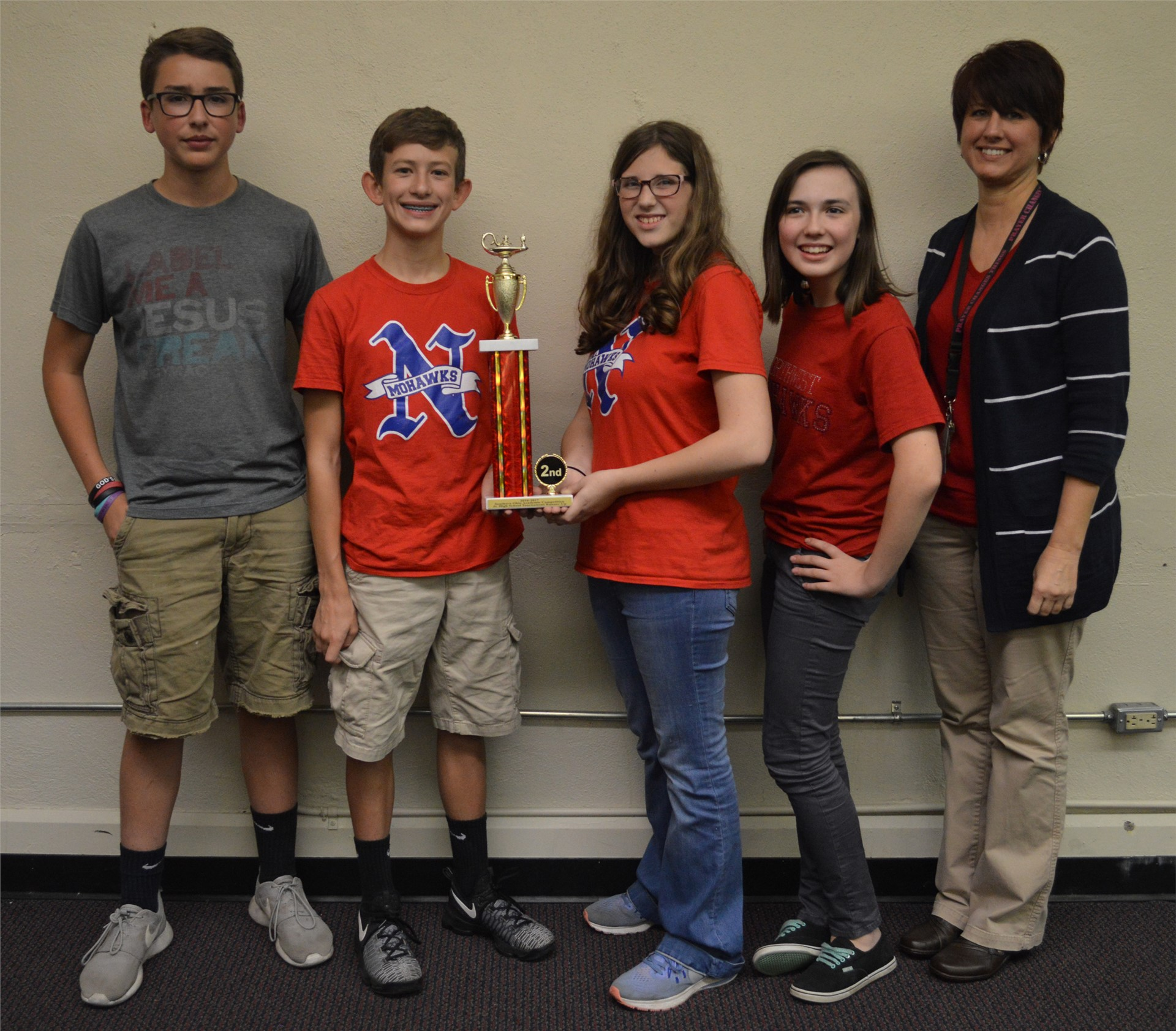 2016 Junior High Quiz Bowl