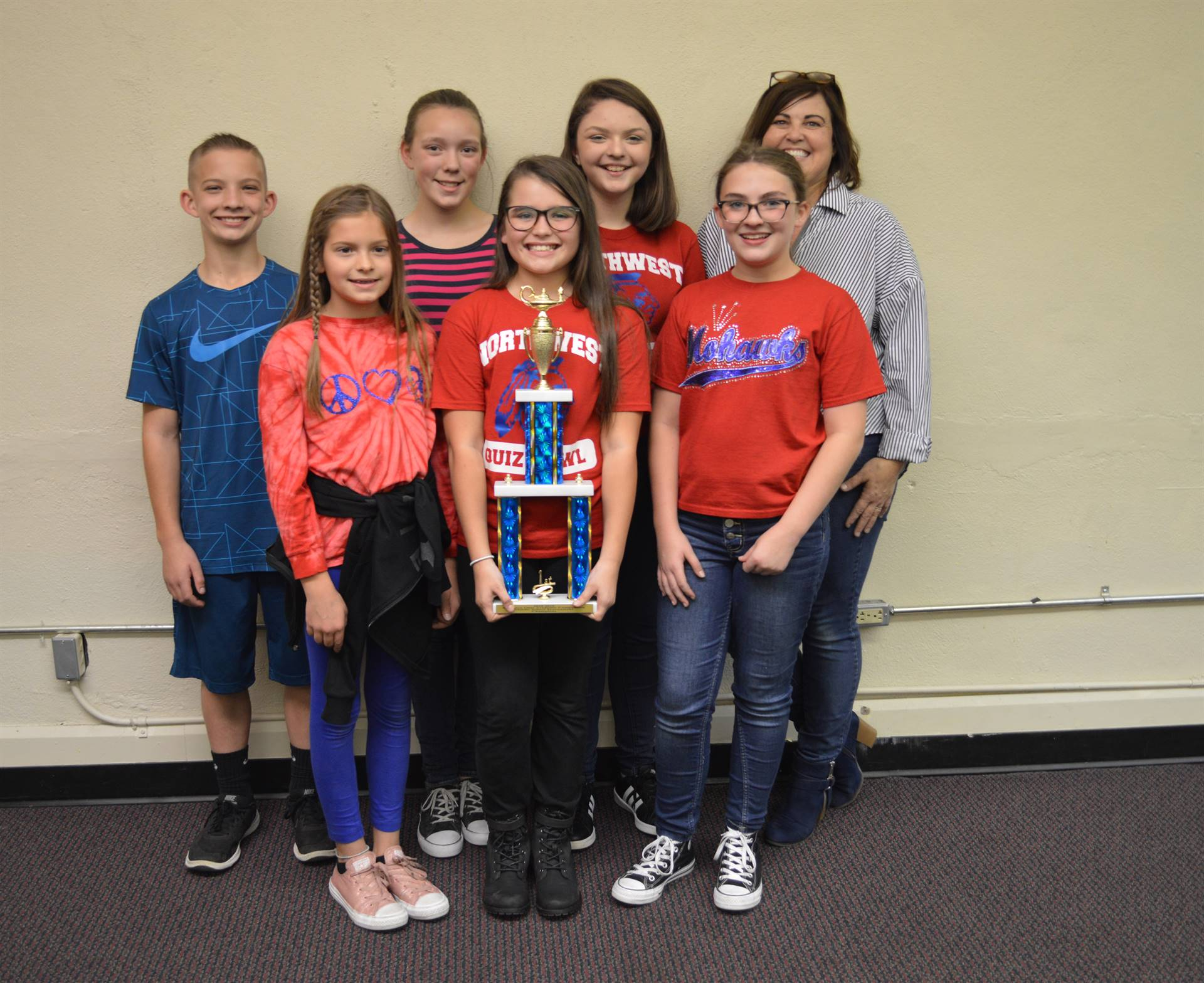 2018 Middle School Quiz Bowl Champions