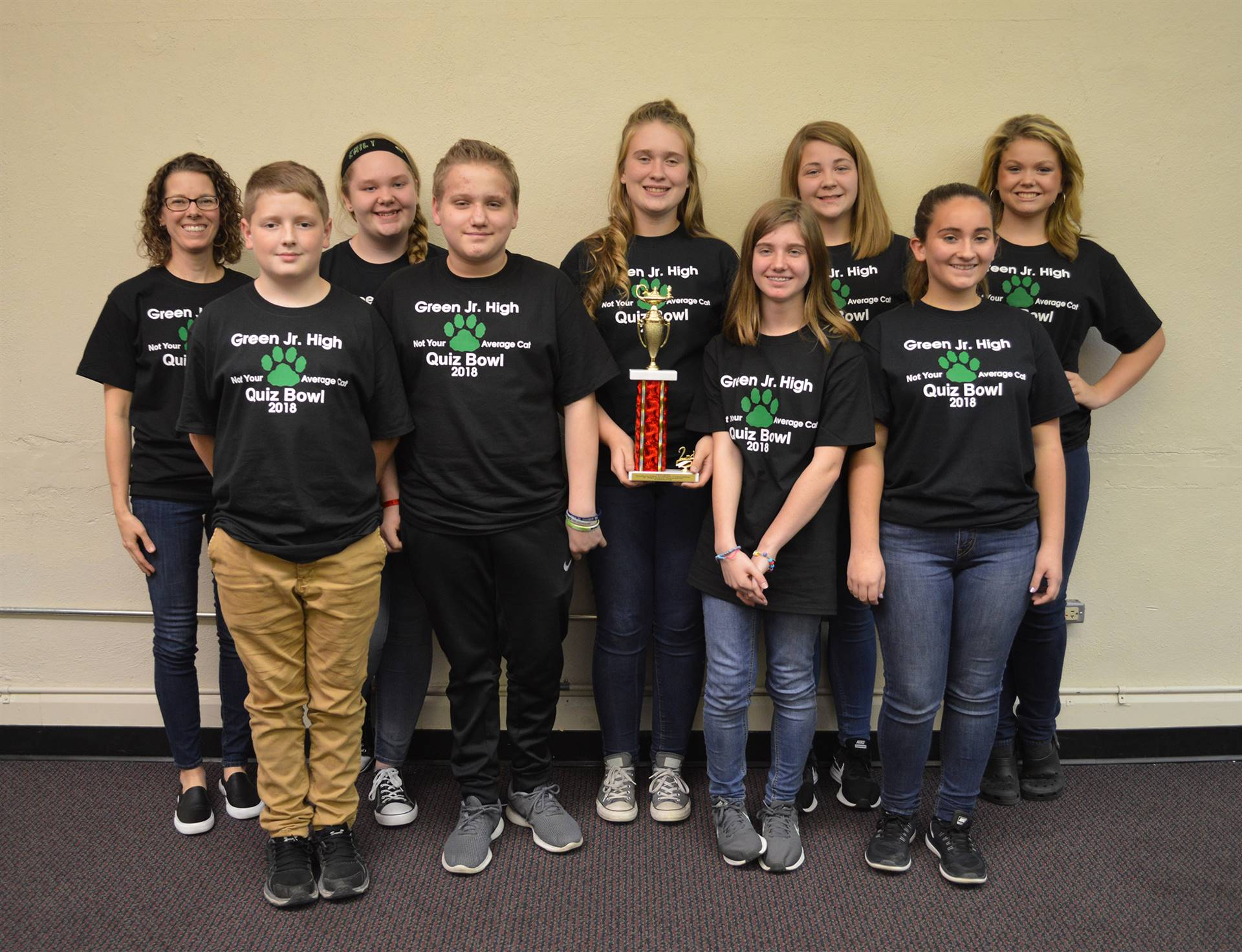 2018 Junior High Quiz Bowl