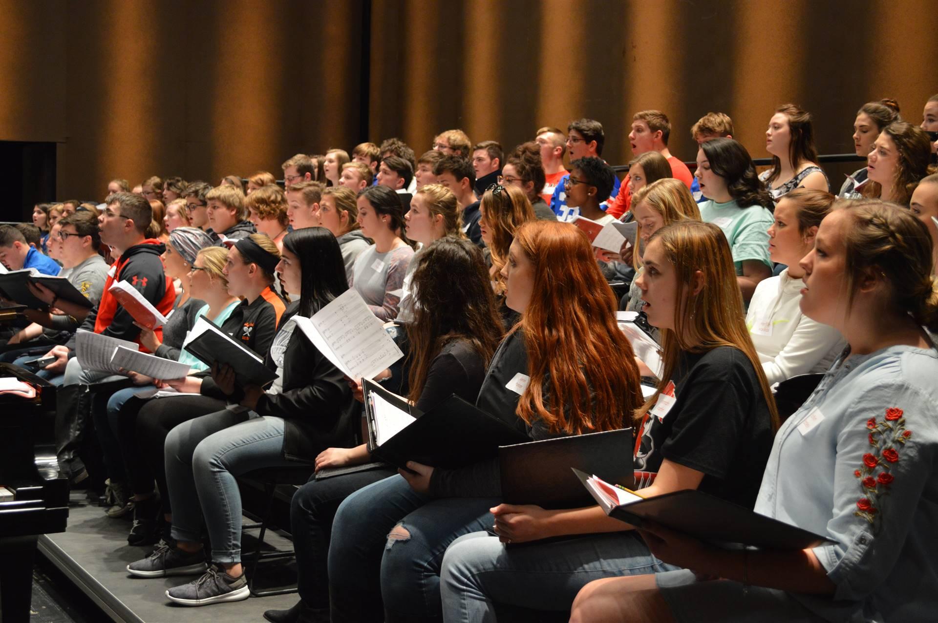 2018 Scioto County Honors High School Choir