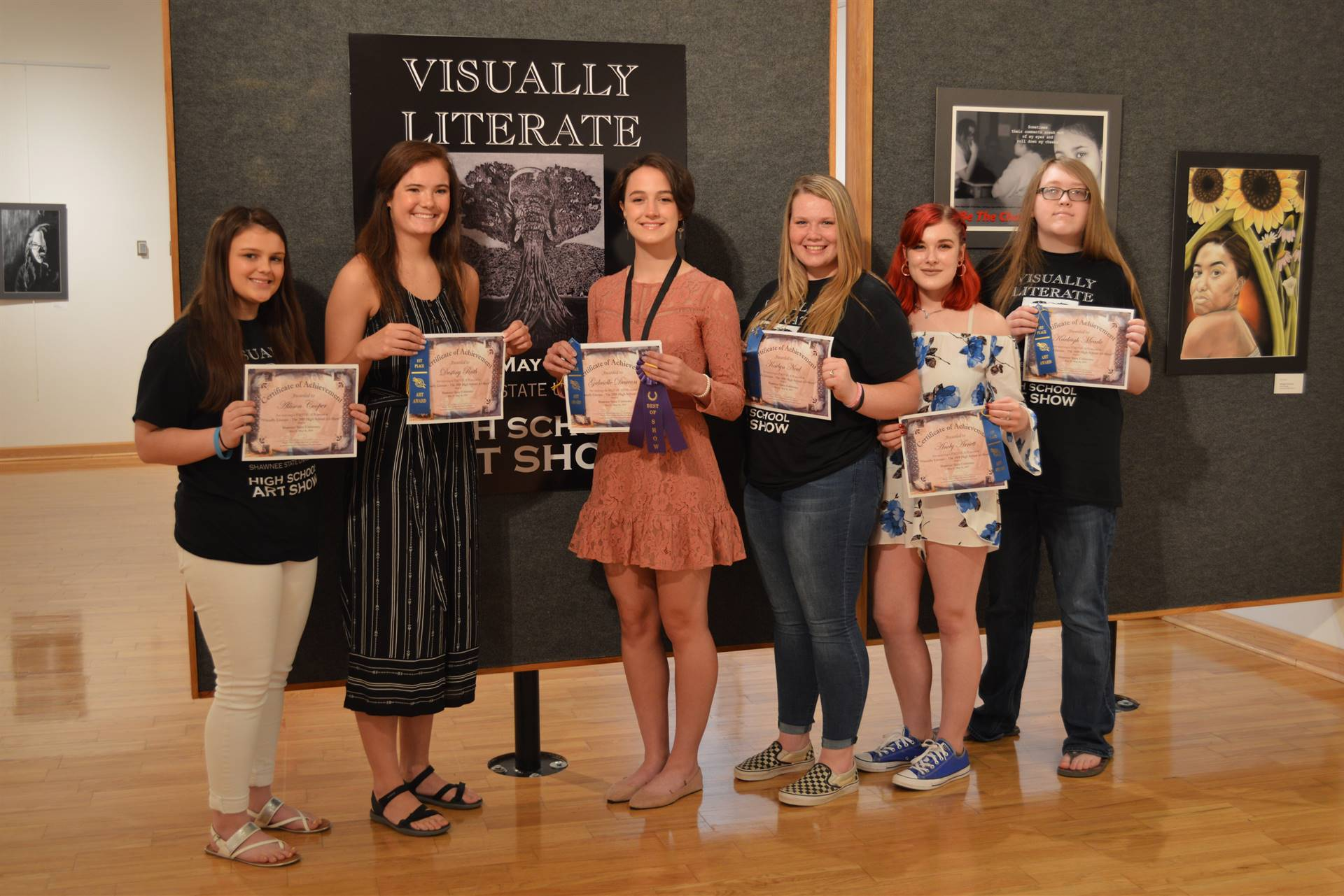 Visually Literate High School Art Show